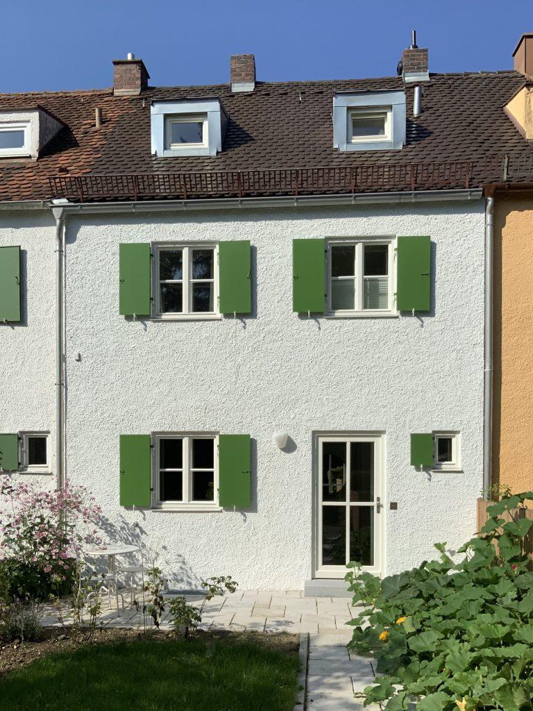 Denkmalgeschützte Fassade